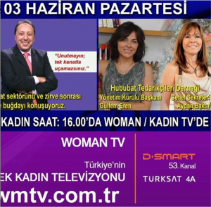 """""""Economy and Women's Place"""" on TV Woman"""